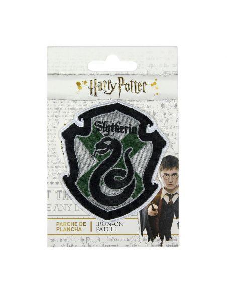 Parche escudo Slytherin - Harry Potter - Crea tu estilo