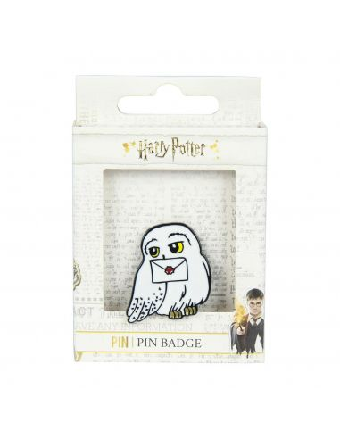 Pin Hedwig metal - Harry Potter - Crea tu estilo