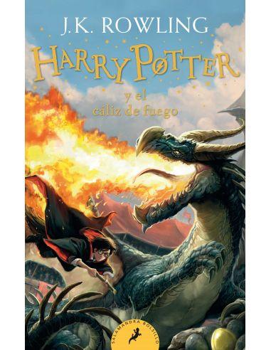 Harry Potter y el Cáliz de Fuego - Salamandra - Nueva Edición