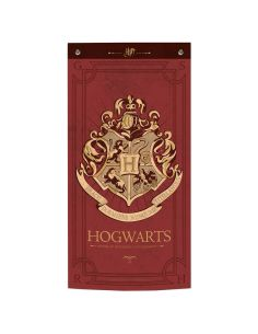 Estandarte Hogwarts burgundy - Harry Potter