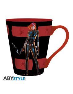Taza Viuda Negra - Marvel