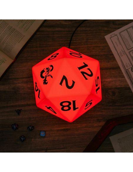 Lámpara D20 - Dungeons and Dragons