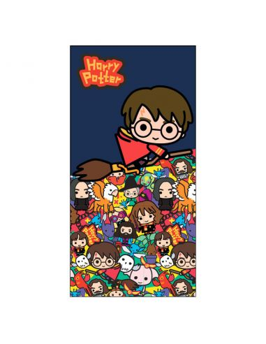 Toalla de Microfibra personajes Chibis - Harry Potter