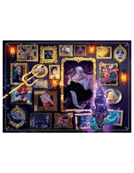 Puzzle Ursula - Villanas Disney - La Sirenita