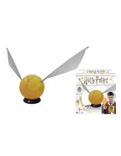 Puzzle 3D Snitch Dorada 242 piezas - Harry Potter