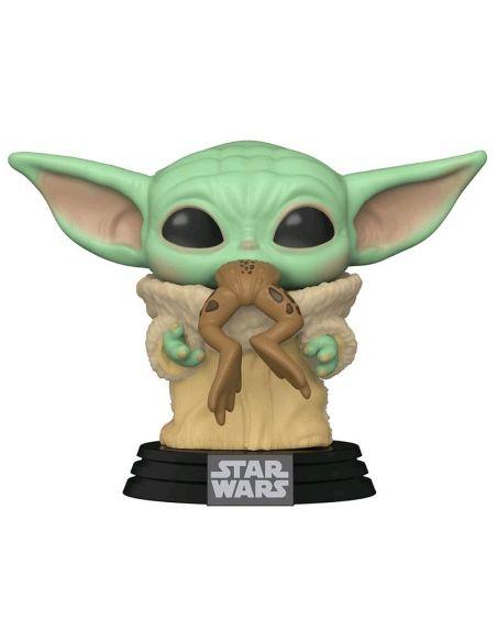 FUNKO POP! Baby Yoda comiendo Rana 379 - The Mandalorian