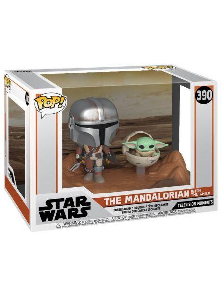 FUNKO POP! The Mandalorian y Baby Yoda - The Mandalorian