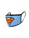 Pack de 2 protectores faciales Logo Superman - DC Comics
