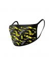 Pack de 2 protectores faciales Batman amarillo - DC Comics