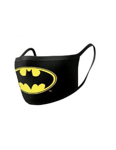 Pack de 2 protectores faciales Logo Batman - DC Comics