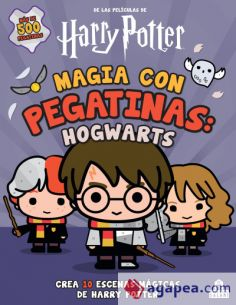Magia con Pegatinas Hogwarts - Harry Potter