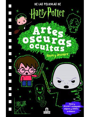 Harry Potter Artes Oscuras: Rasca y Descubre - Libro de actividades