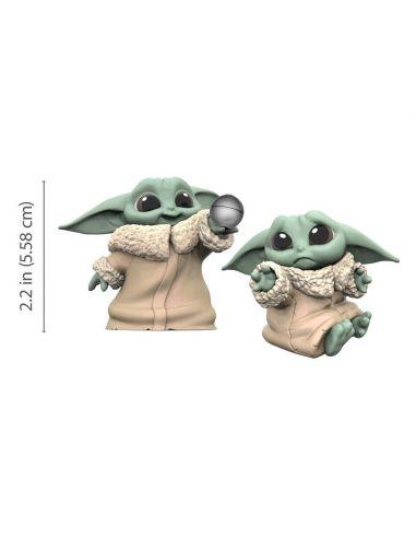 Pack 2 Figuras Baby Yoda - The Mandalorian - Star Wars