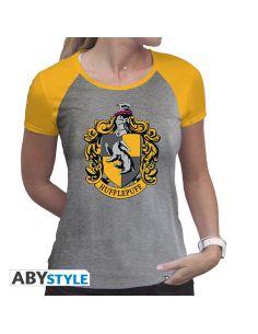 Camiseta Mujer Hufflepuff - Harry Potter