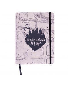 Cuaderno premium Mapa del Merodeador - Harry Potter