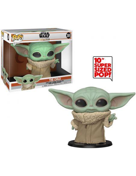 Funko Pop! Baby Yoda 25 cm - Super Sized - The Mandalorian
