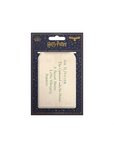 Tarjetero carta Hogwarts - MinaLima - Harry Potter