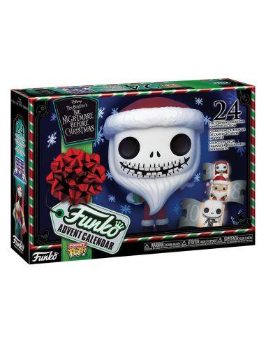 Pocket POP! Calendario de adviento Pesadilla antes de Navidad