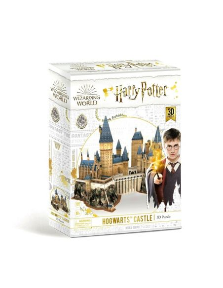 Puzzle 3D Castillo Hogwarts 197 pcs - Harry Potter