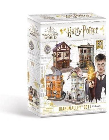 Puzzle 3D Callejón Diagón 273 pcs - Harry Potter