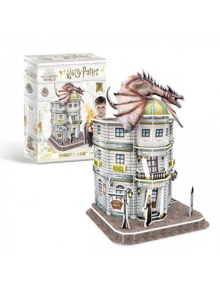 Puzzle 3D Banco Gringotts 74 pcs - Harry Potter