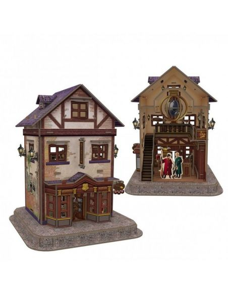 Puzzle 3D Tienda artículos de Quidditch 71 pcs - Harry Potter