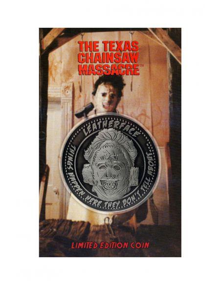 Moneda Leatherface - Edición Limitada - La Matanza de Texas