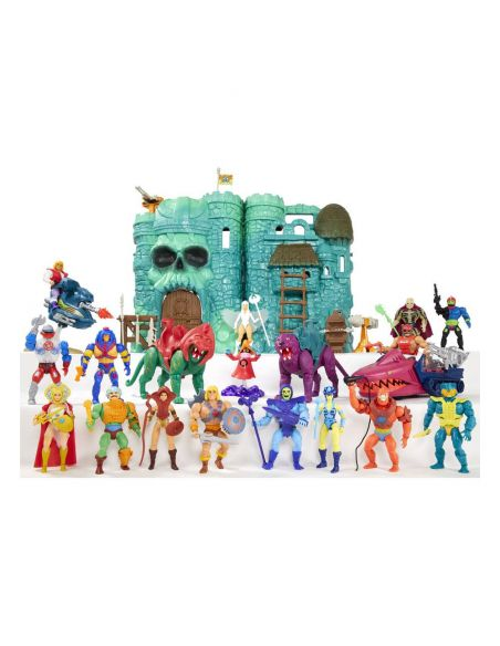 Castillo Grayskull y Figura Sorceress - Masters del Universo Origins