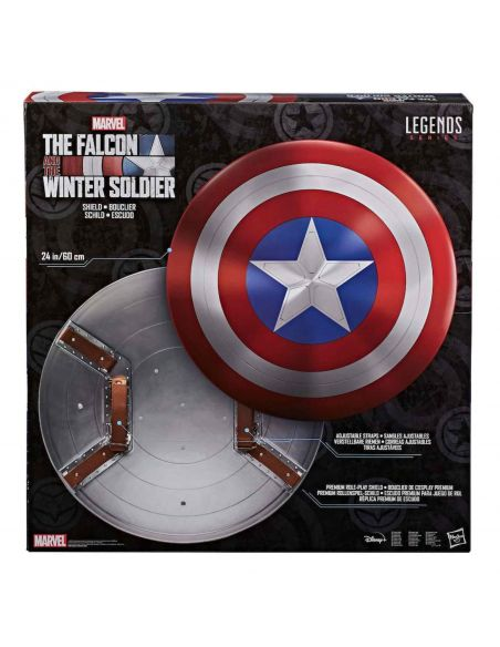 Réplica Escudo Capitán América - escala 1:1 - Marvel Legends - Marvel