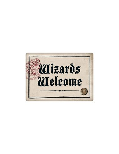 Imán Wizards Welcome - Harry Potter