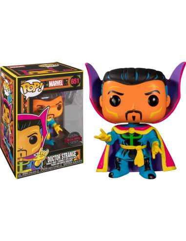 FUNKO POP! Doctor Strange 651 - Black Light - Marvel