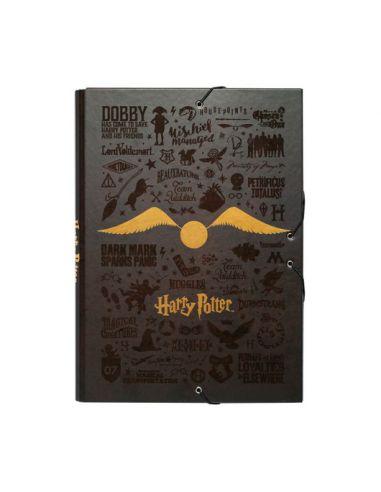 Carpeta Harry Potter con Solapas - Harry Potter