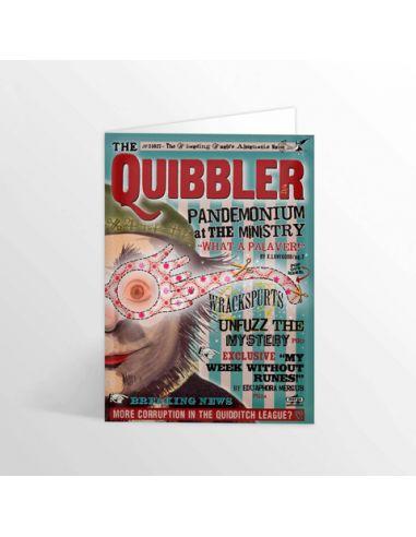 Tarjeta Quibbler - MinaLima - Harry Potter