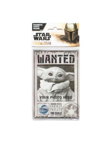 Marco de fotos Imantado Wanted Baby Yoda (Grogu) - The Mandalorian - Star Wars