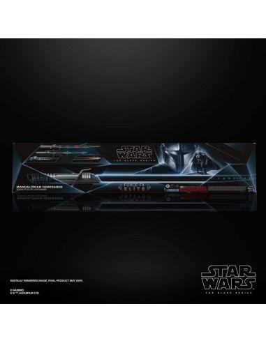 Réplica 1/1 Force FX Elite Sable The Mandalorian Darksaber - Black Series -  Star Wars