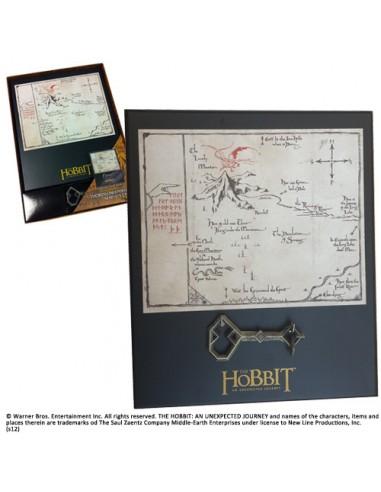 Mapa y Llave Thorin - El Hobbit