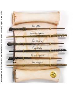 Varitas del Ejército de Dumbledore con Expositor - Harry Potter