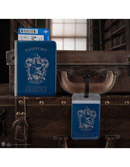 Porta pasaporte y Etiqueta para equipaje Ravenclaw - Harry Potter