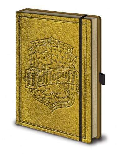 Libreta Premium A5 Hufflepuff - Harry Potter