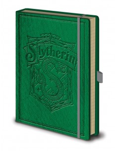 Libreta Premium A5 Slytherin - Harry Potter