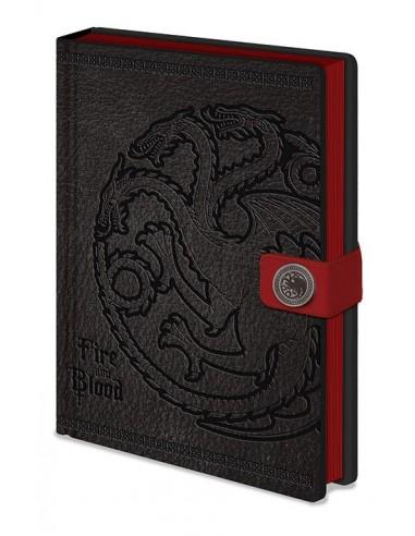 Libreta Premium A5 Targaryen - Juego de Tronos