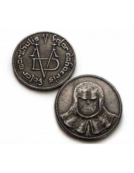 Colgante Moneda Hombre sin Rostro - Juego de Tronos