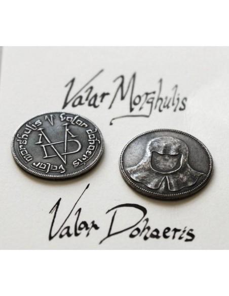 Moneda Hombre sin Rostro - Juego de Tronos