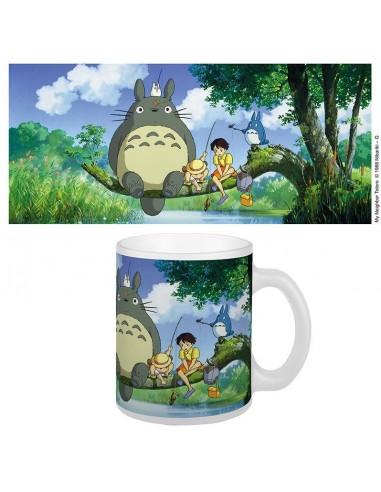 Taza Totoro Fishing - Studio Ghibli