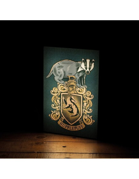 Lámpara Luminart Hufflepuff - Harry Potter