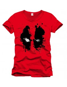 Camiseta Splash Head - Deadpool