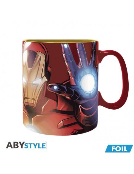 Taza efecto metalizado Iron Man - Los Vengadores - Marvel
