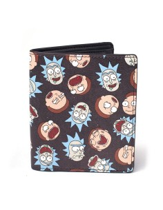 Cartera All Over Print - Rick y Morty