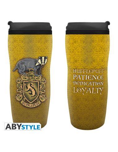 Taza de viaje Escudo Hufflepuff - Harry Potter