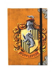 Libreta A6 Huffelpuff - Harry Potter